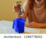 tossing the eyeglasses. no more ... | Shutterstock . vector #1288778002