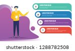 business infographic template... | Shutterstock .eps vector #1288782508