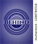 behind badge with denim... | Shutterstock .eps vector #1288784518