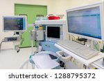 anesthesia machine in hospital... | Shutterstock . vector #1288795372
