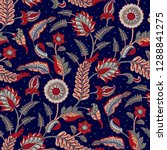 seamless pattern with fantasy... | Shutterstock .eps vector #1288841275