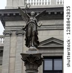 statue of winged nike. victory... | Shutterstock . vector #1288842835