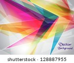 abstract shiny background.... | Shutterstock .eps vector #128887955