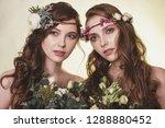 spring  summer fashion photo... | Shutterstock . vector #1288880452