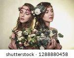 spring  summer fashion photo... | Shutterstock . vector #1288880458