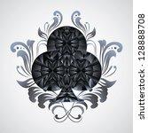 ornament clubs | Shutterstock .eps vector #128888708