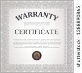 square certificate model | Shutterstock .eps vector #1288890865