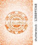 caravanning abstract orange...   Shutterstock .eps vector #1288895368
