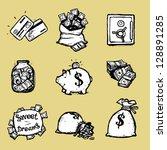 Money Illustration Set