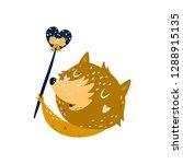 fox clip art vector forest...   Shutterstock .eps vector #1288915135
