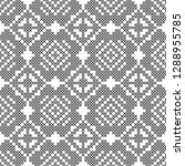 cross stitch  seamless... | Shutterstock .eps vector #1288955785