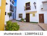altea white village in alicante ... | Shutterstock . vector #1288956112