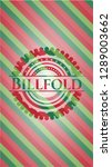 billfold christmas style badge.. | Shutterstock .eps vector #1289003662