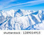 wide panoramic view of winter... | Shutterstock . vector #1289014915