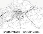 area map of taipei  taiwan.... | Shutterstock .eps vector #1289049808