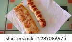 fresh bread from cereals with... | Shutterstock . vector #1289086975