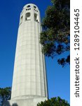 coit tower in san francisco... | Shutterstock . vector #1289104465