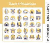 Travel And Destination Icons...