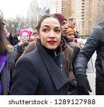 new york  ny   january 19  2019 ... | Shutterstock . vector #1289127988