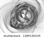 digital abstract fractal... | Shutterstock . vector #1289130145