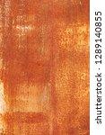 rusty metal texture or rusty... | Shutterstock . vector #1289140855