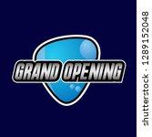 grand opening  beautiful... | Shutterstock .eps vector #1289152048