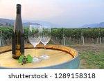 rural wine arrangement   bottle ... | Shutterstock . vector #1289158318