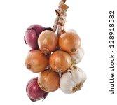 Hanging Bunch Bundle Of Onion...
