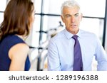 businessman at the office | Shutterstock . vector #1289196388