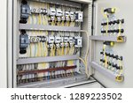 electric cable wiring supply... | Shutterstock . vector #1289223502