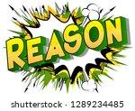 reason   vector illustrated... | Shutterstock .eps vector #1289234485