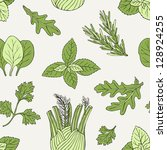 Herb Seamless Pattern