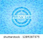 physician realistic sky blue...   Shutterstock .eps vector #1289287375