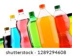 plastic bottles of assorted... | Shutterstock . vector #1289294608