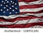 american flag | Shutterstock . vector #128931182