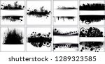 scratch grunge urban background.... | Shutterstock .eps vector #1289323585