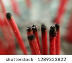 many wooden red incense already ... | Shutterstock . vector #1289323822