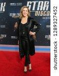 new york jan 17  producer... | Shutterstock . vector #1289327452