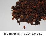 clove  dry cloves  carnation... | Shutterstock . vector #1289334862