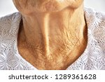 selective focus wrinkled and... | Shutterstock . vector #1289361628