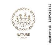 nature ornamental logo in...   Shutterstock .eps vector #1289369662
