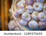 thai garlic garnish   Shutterstock . vector #1289370655