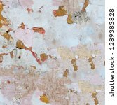 abstract dirty stained grunge... | Shutterstock . vector #1289383828