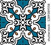 oriental traditional ornament ... | Shutterstock .eps vector #1289389558