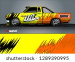 car livery graphic vector....