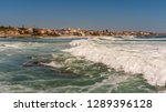 view of the portuguese coast... | Shutterstock . vector #1289396128