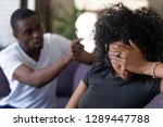 tired frustrated african wife... | Shutterstock . vector #1289447788