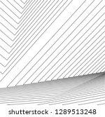 architecture building 3d  | Shutterstock .eps vector #1289513248