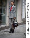 paris march 5  2018. street... | Shutterstock . vector #1289545975