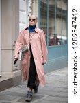 paris march 5  2018. street... | Shutterstock . vector #1289547412